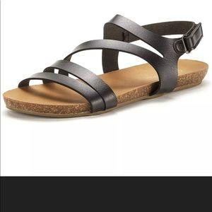 DREAM PAIRS Athena Womens Ankle Strap   Sa30